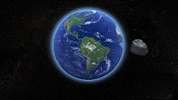 An Asteroid Twice as Close as Most Satellites Flys By Earth