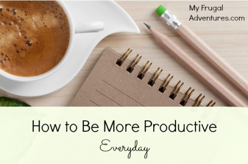 How to be more productive in a day?