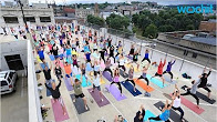 Rooftop Yoga Is Sweeping The World