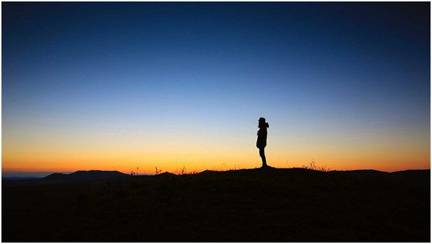How spending some alone time help a person urging success