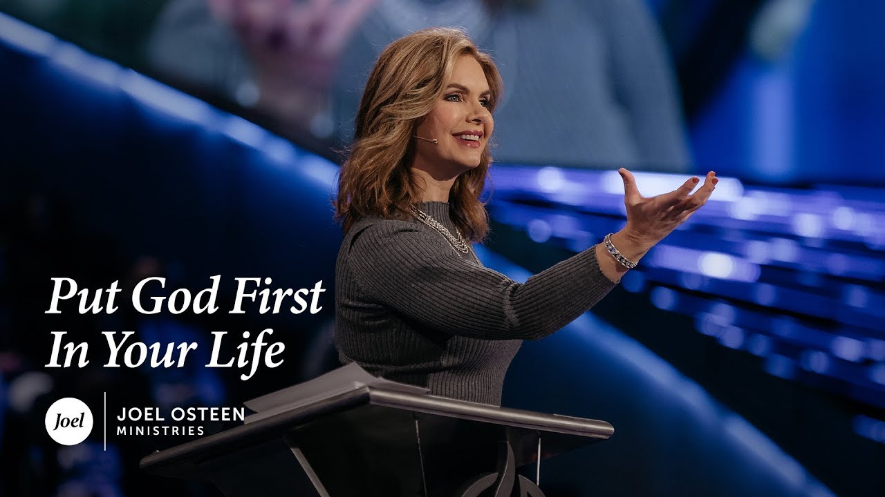Victoria Osteen - Put God First In Your Life