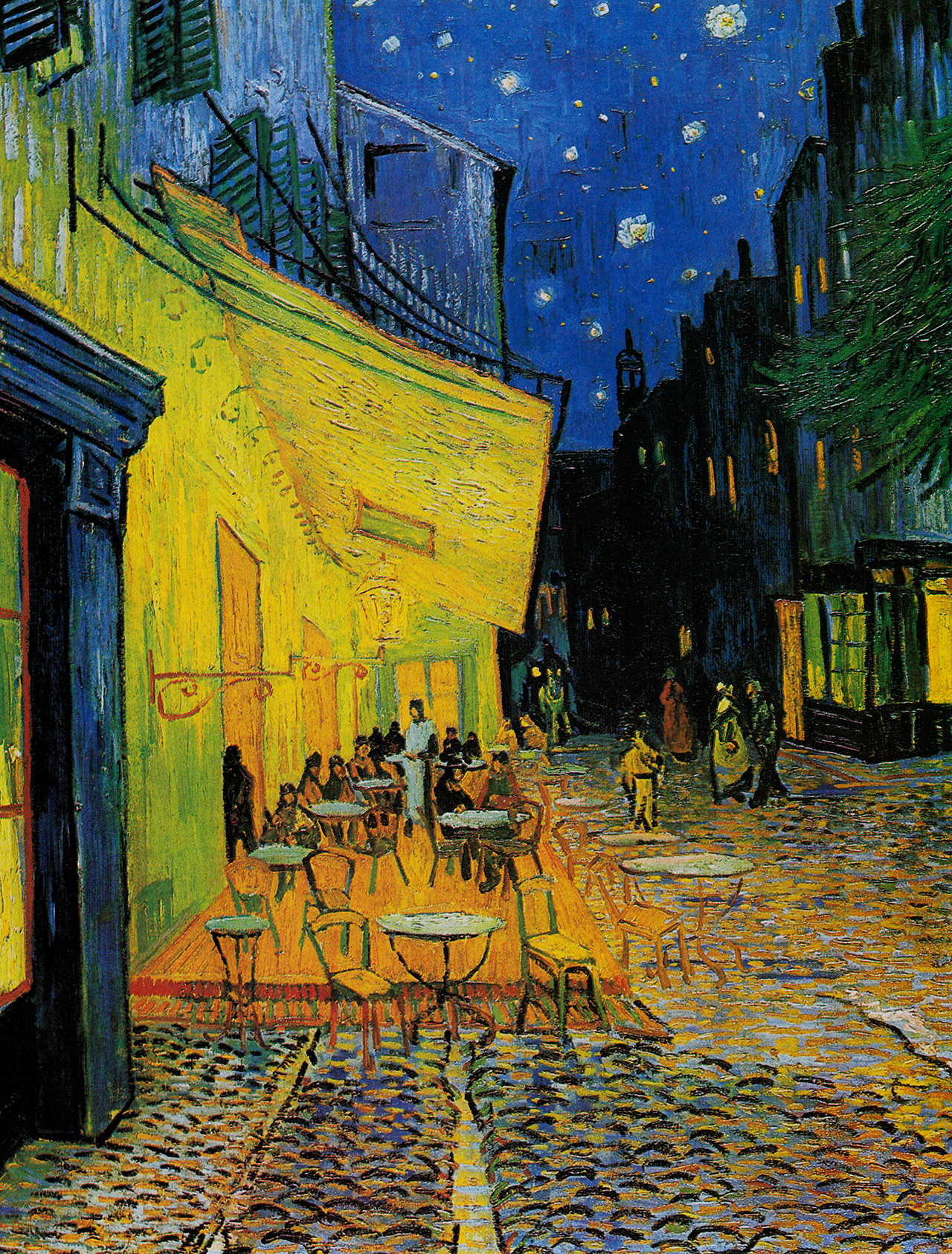 Cafe Terrace painting by Vincent Van Gogh